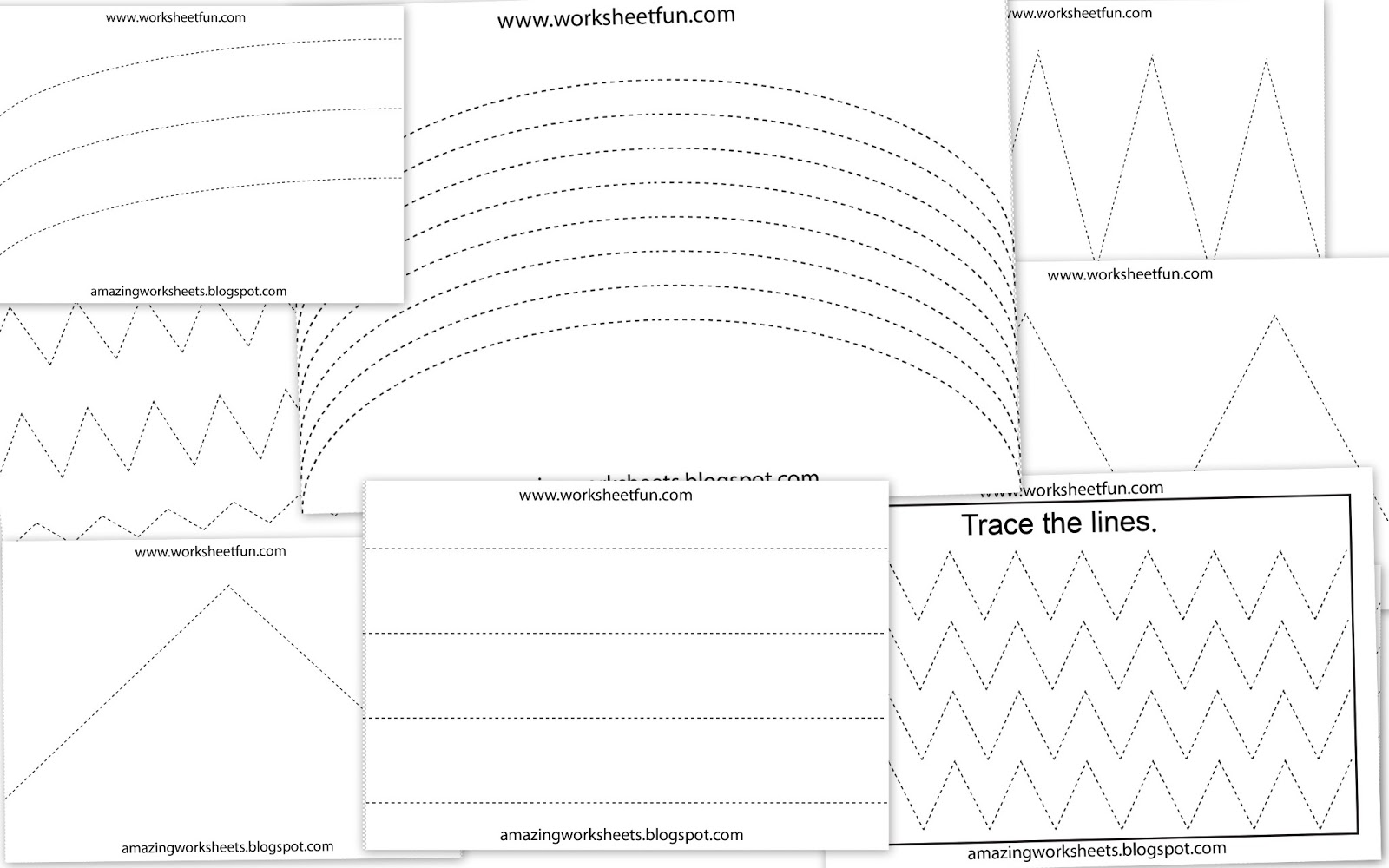 14 Best Images Of Preschool Shapes Worksheets Tracing