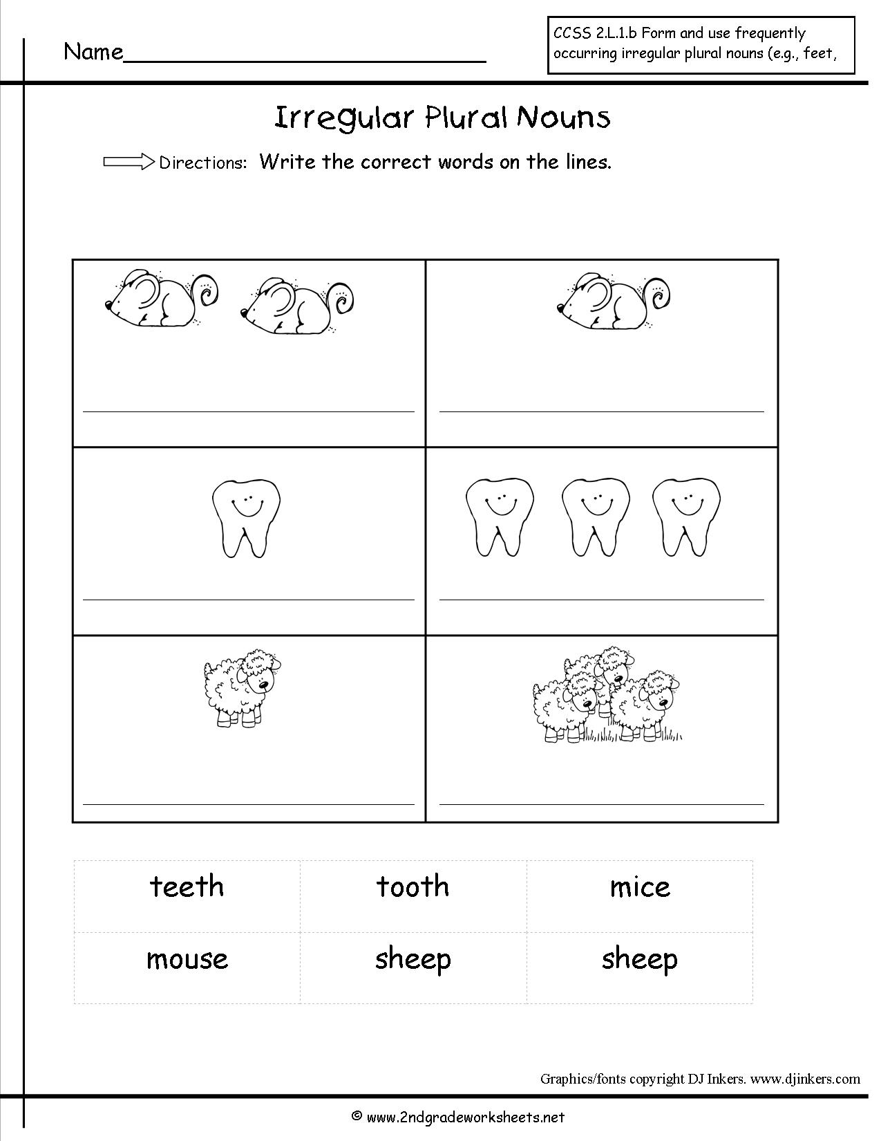 16 Best Images Of Standard Form Worksheets 2nd Grade
