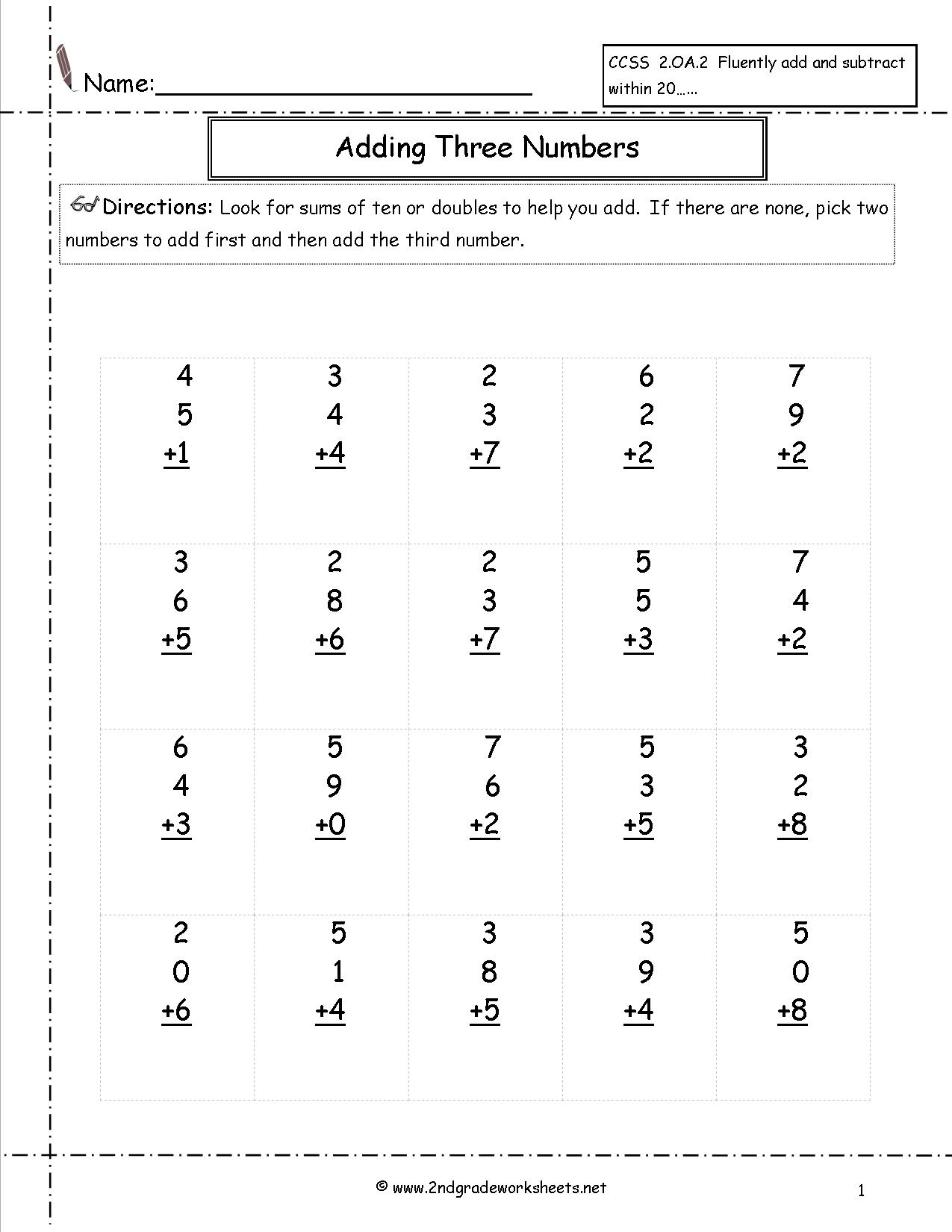 10 Best Images Of Place Value 3 Digit Numbers Worksheets