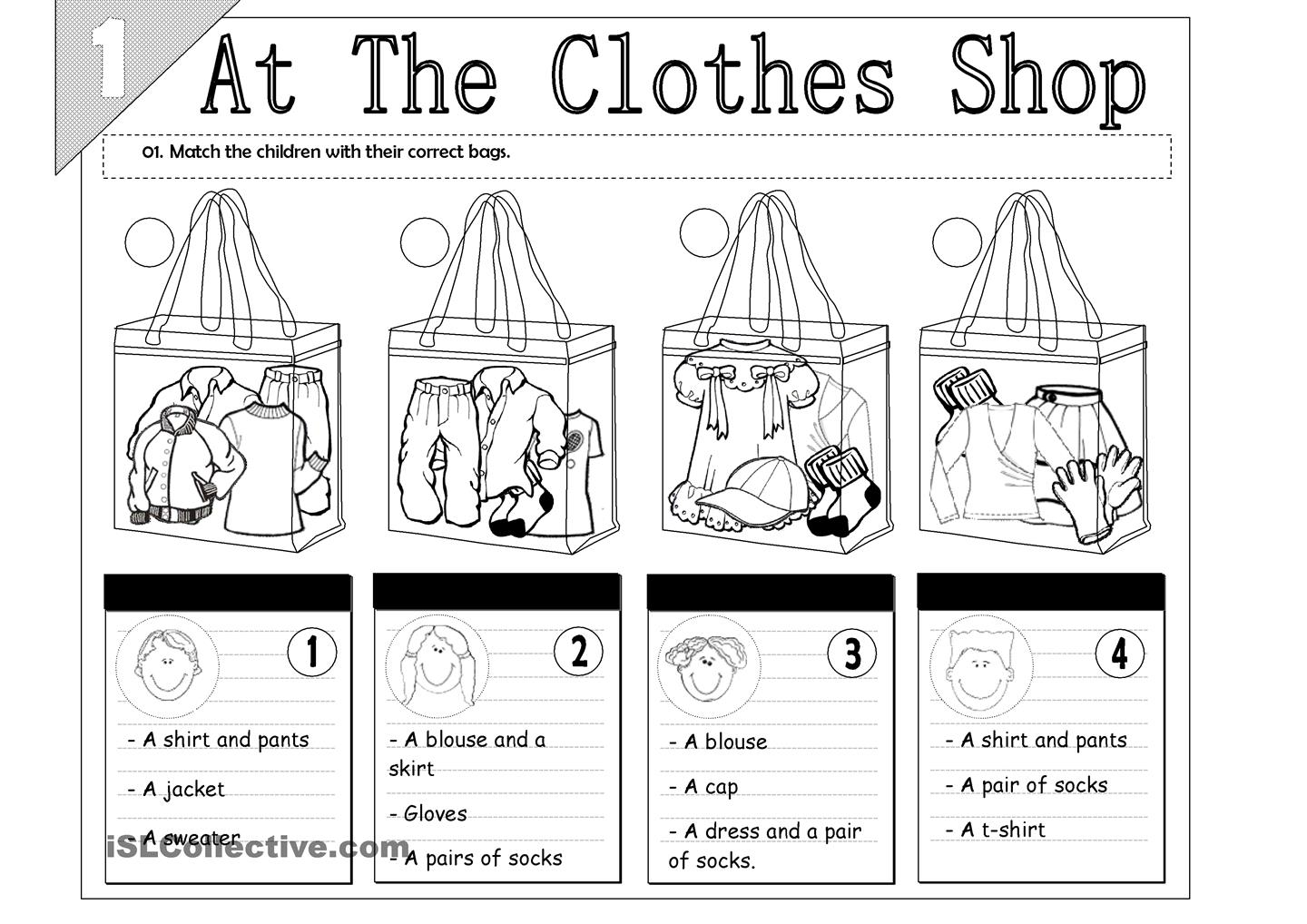 5 Best Images Of Shopping Conversation Worksheet