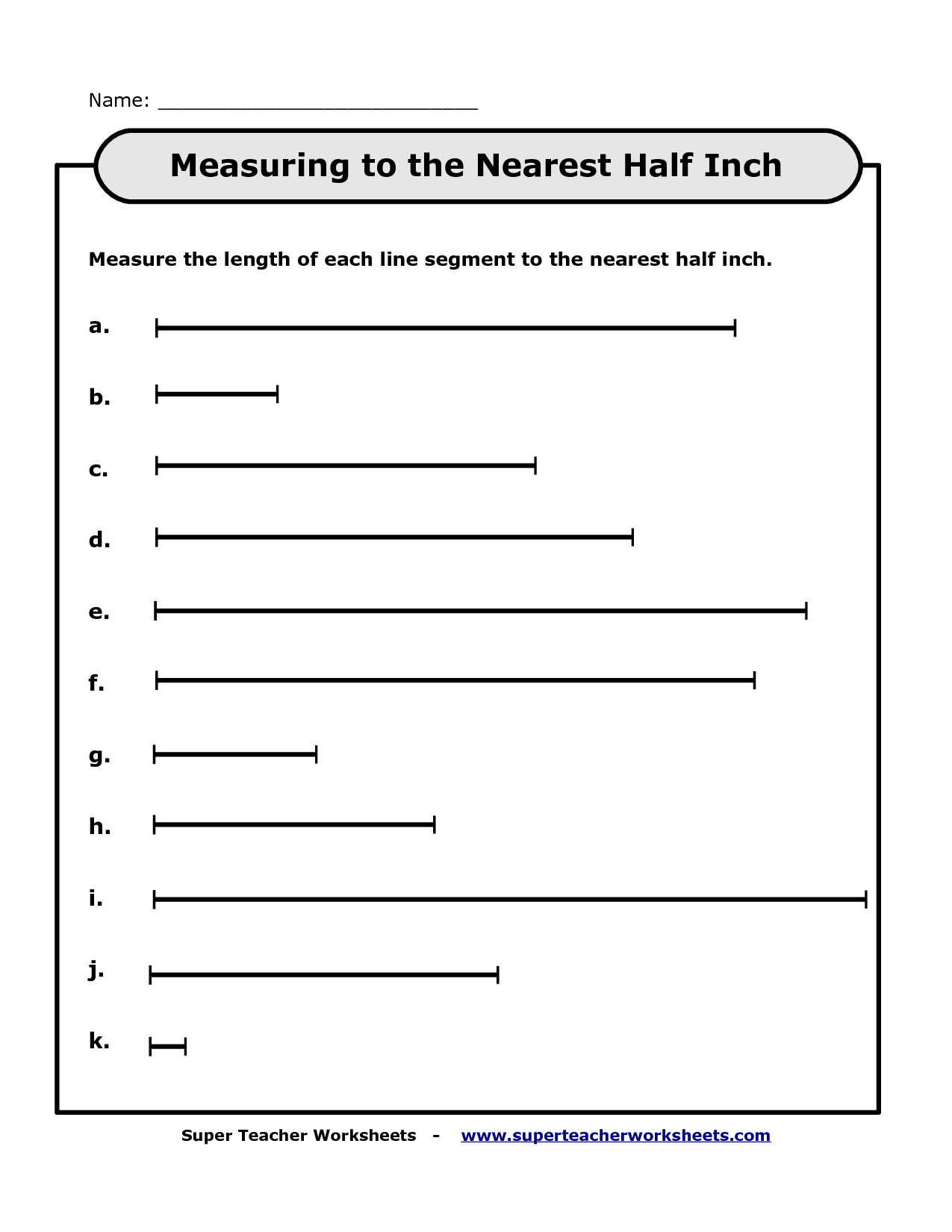 9 Best Images Of Super Teacher Worksheets Measurement