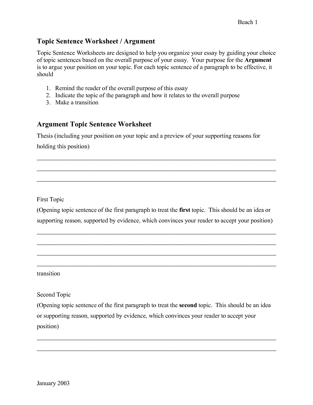 Sentence Worksheet Category Page 11