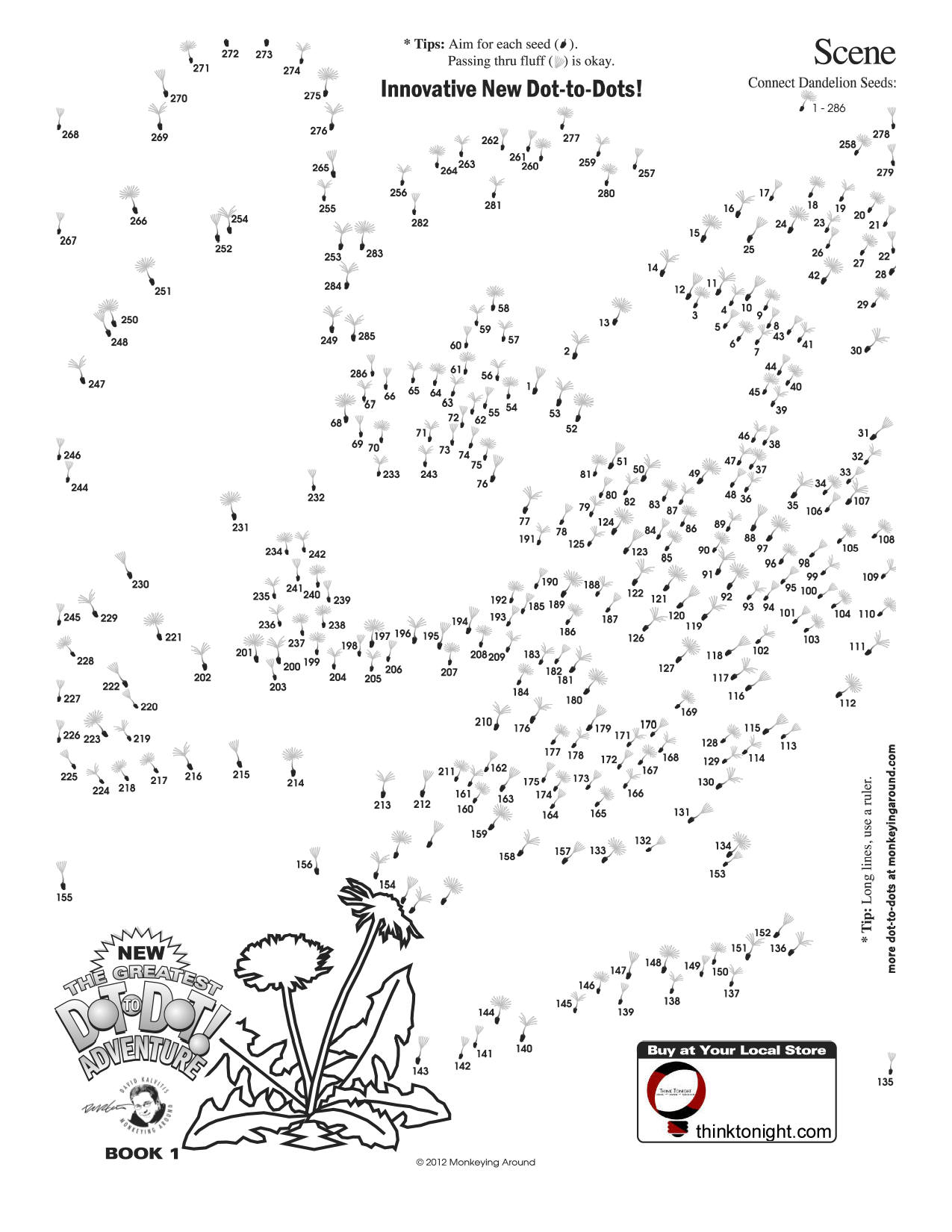 15 Best Images Of Advanced Dot To Dot Worksheets