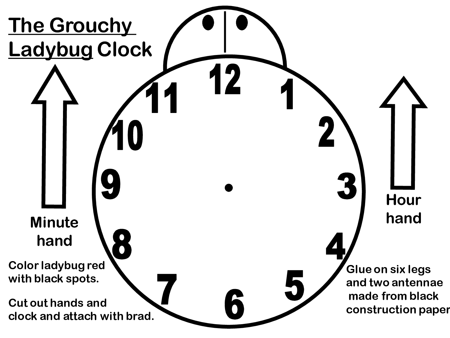 12 Best Images Of Clock Without Hands Worksheet