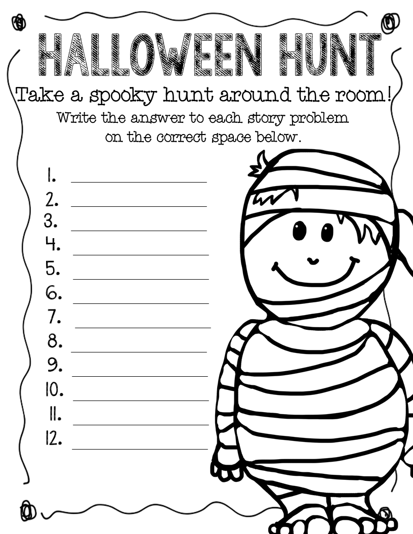 worksheet Free Halloween Math Worksheets related 1st grade math lessons multiplication coloring page free halloween worksheets for second worksheets