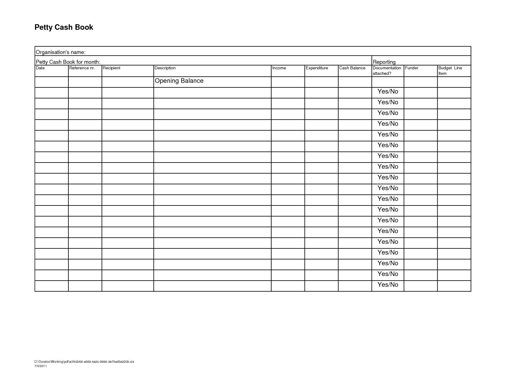 15 Best Images Of Financial Worksheet Excel