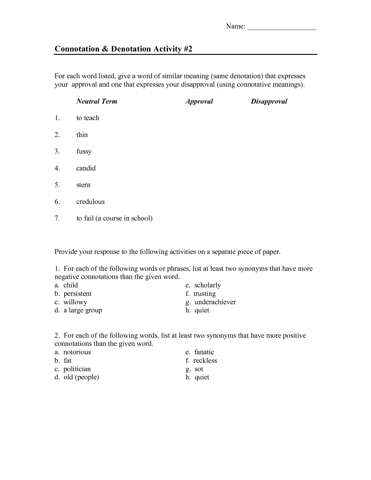 Other Worksheet Category Page 701