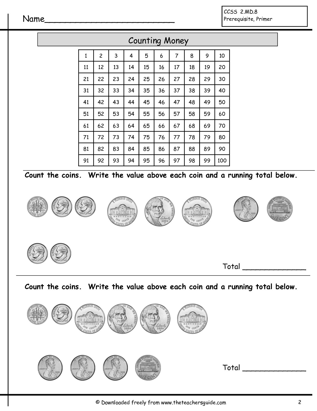 10 Best Images Of Super Teacher Worksheets Counting Quarters