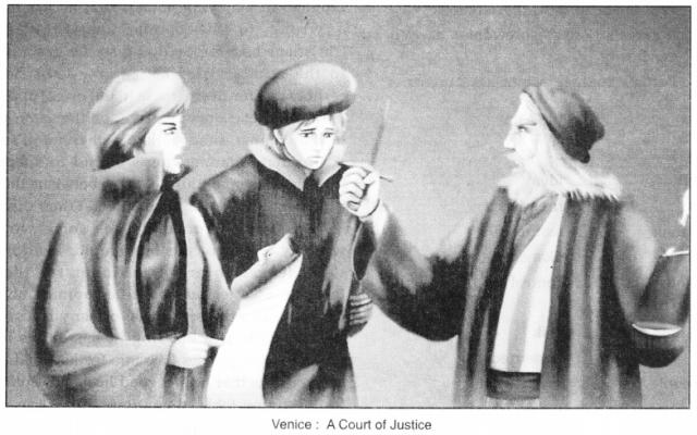 Merchant of Venice Act 4 Scene 1 Summary