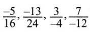 CBSE Class 7 Maths Rational Numbers Worksheets 1