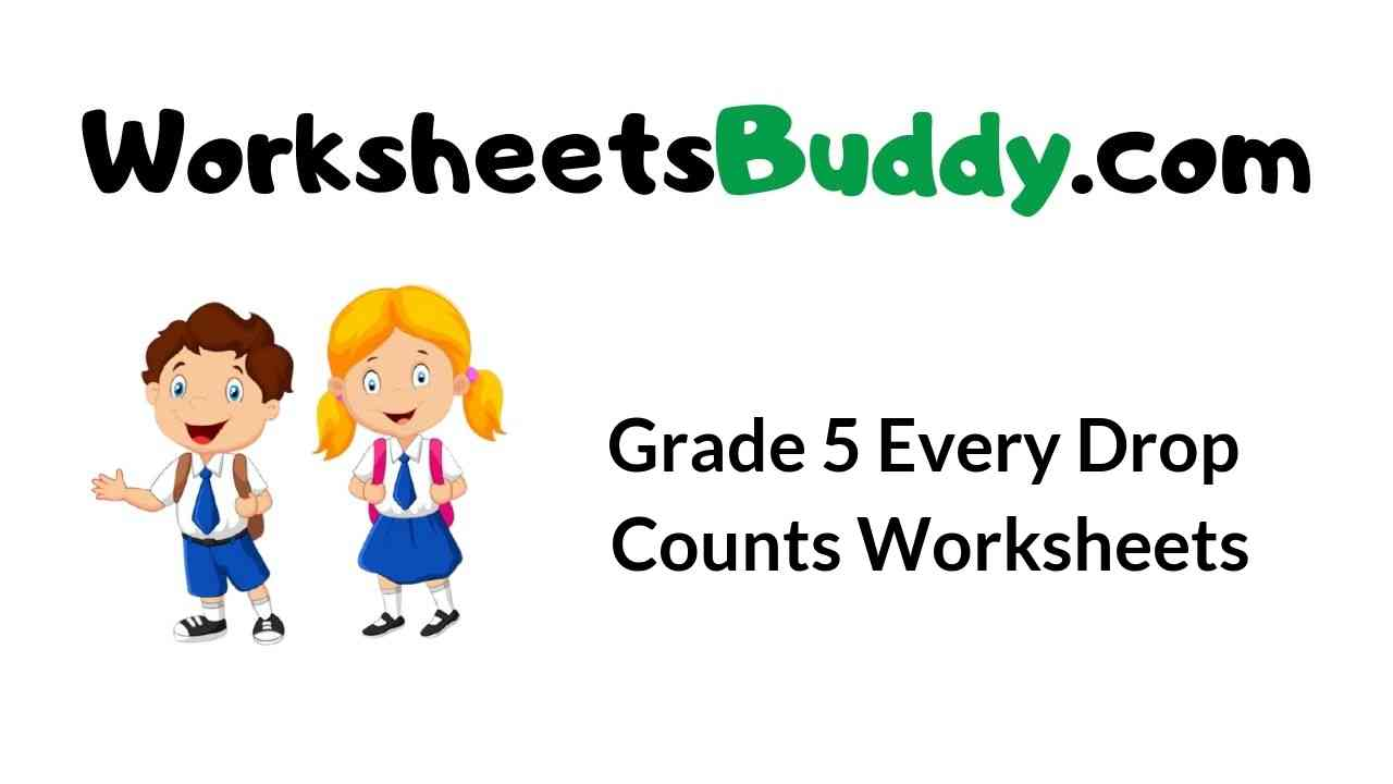 grade-5-every-drop-counts-worksheets