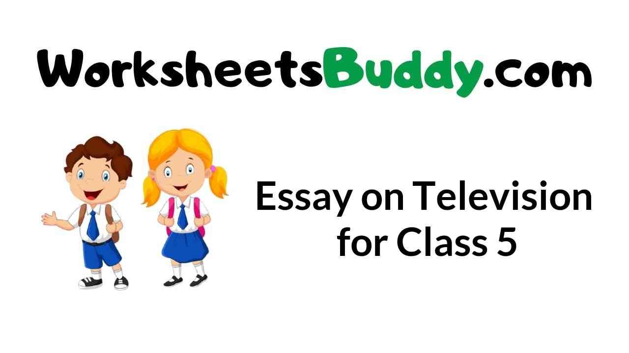 essay-on-television-for-class-5