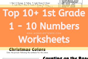 1 - 10 Numbers Worksheets