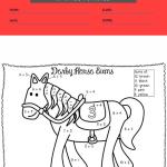 1st grade coloring worksheets 4