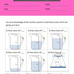 1st grade measurement worksheets 1
