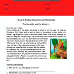 3rd grade reading comprehension worksheets pdf 3