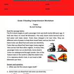 3rd grade reading comprehension worksheets pdf 4
