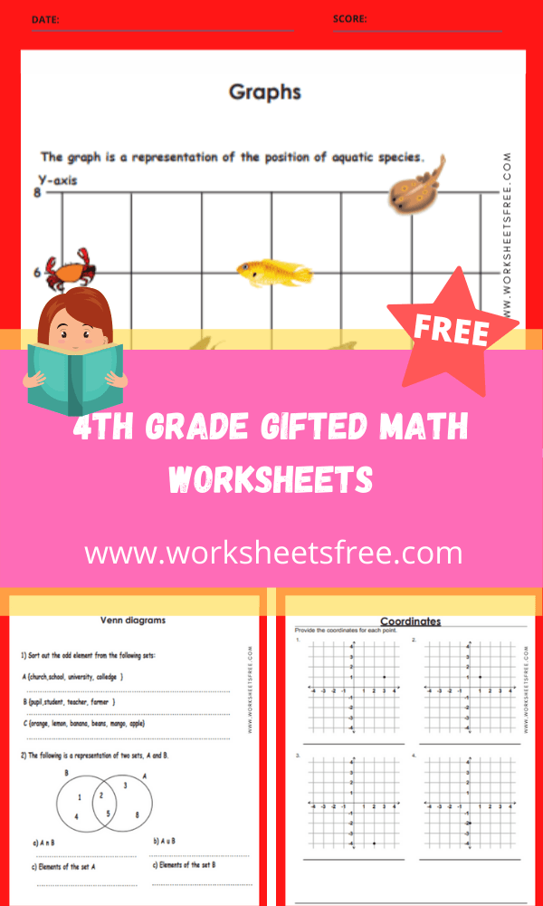 4th grade gifted math worksheets