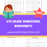 6th grade homeschool worksheets