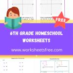 6th grade homeschool worksheets