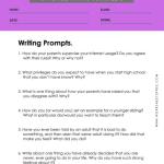 6th grade writing worksheets 10