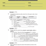 9th grade english grammar worksheets3