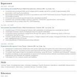 Accounting Associate Resume Sample 5