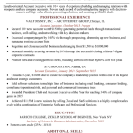 Accounts Executive Resume Sample 5