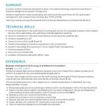 Business Intelligence Resume Sample 1