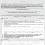 Chief Financial Officer Resume Sample 1