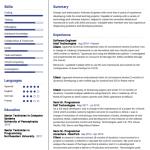 Cloud Computing Resume Sample 1