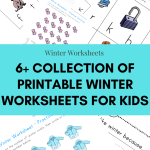 Printable Winter Worksheets for Kids