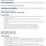 Development Engineer Resume Sample 5