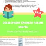 Development Engineer Resume Sample