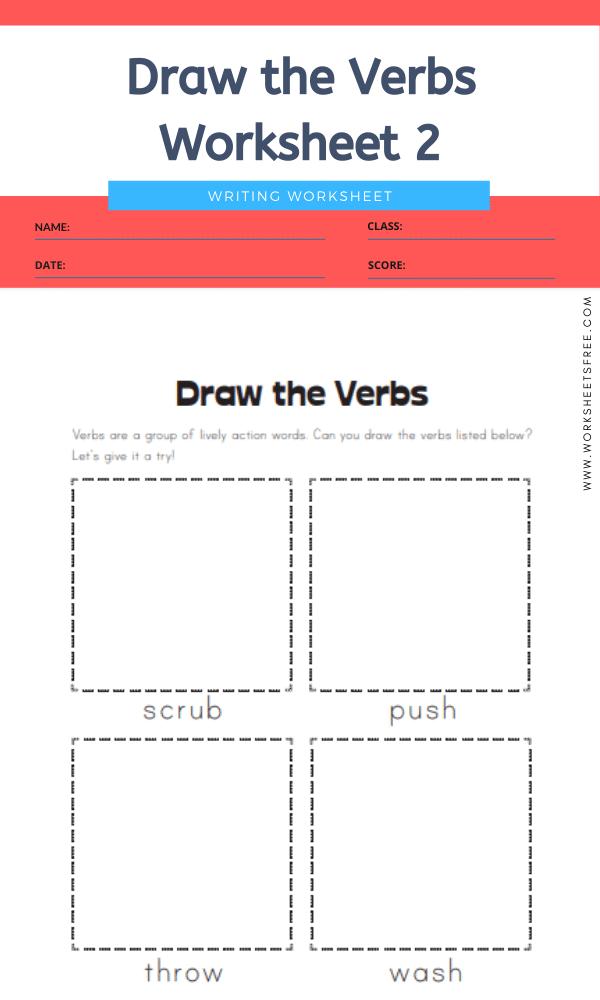 10+ Third / 3rd Grade Verb Worksheets : Writing Worksheets Worksheets Free