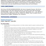 EDC Database Developer Resume Sample 2