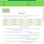 Fill in Blanks Adverbs Worksheet 2