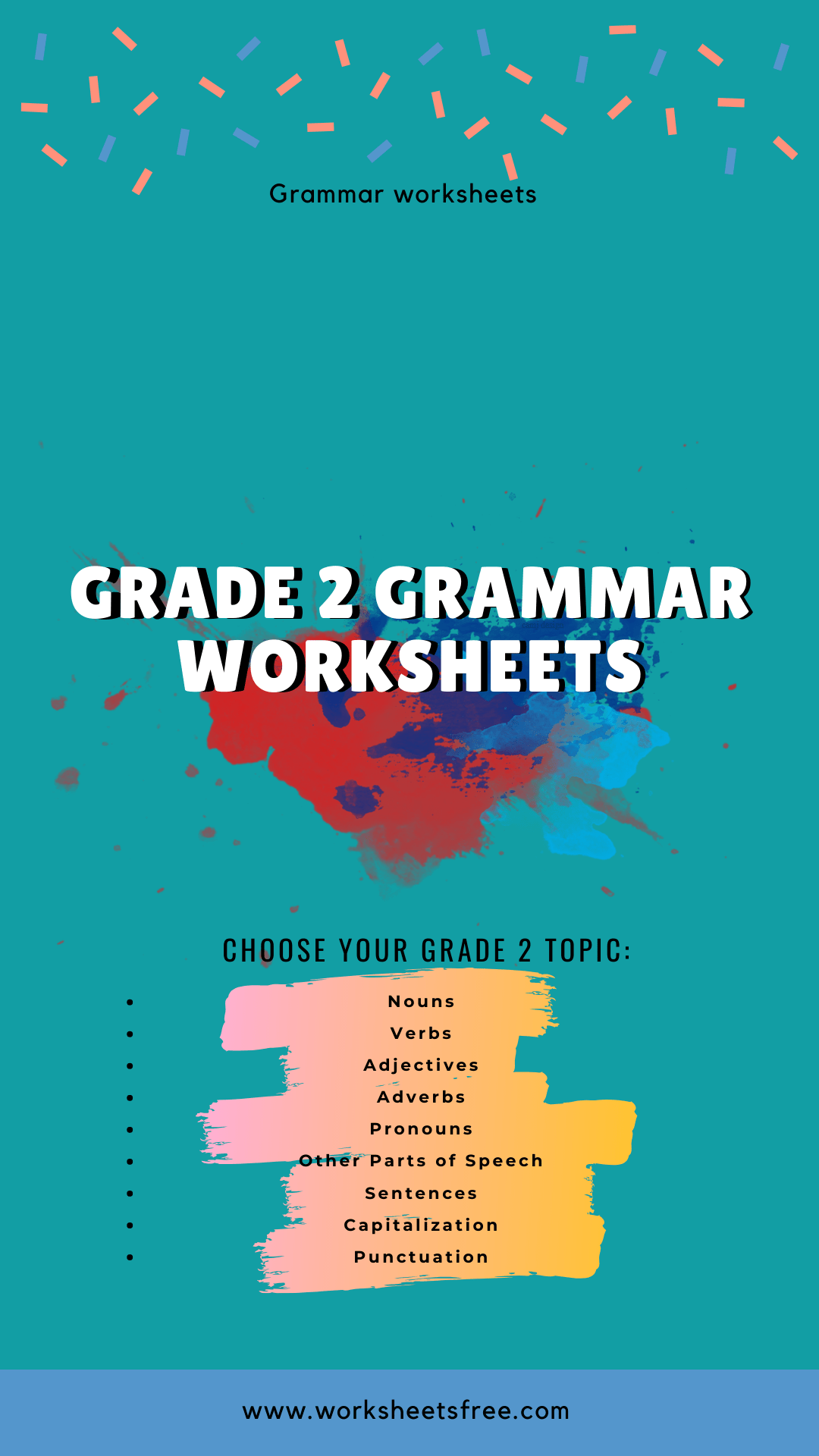 Grade 2 Grammar Worksheets