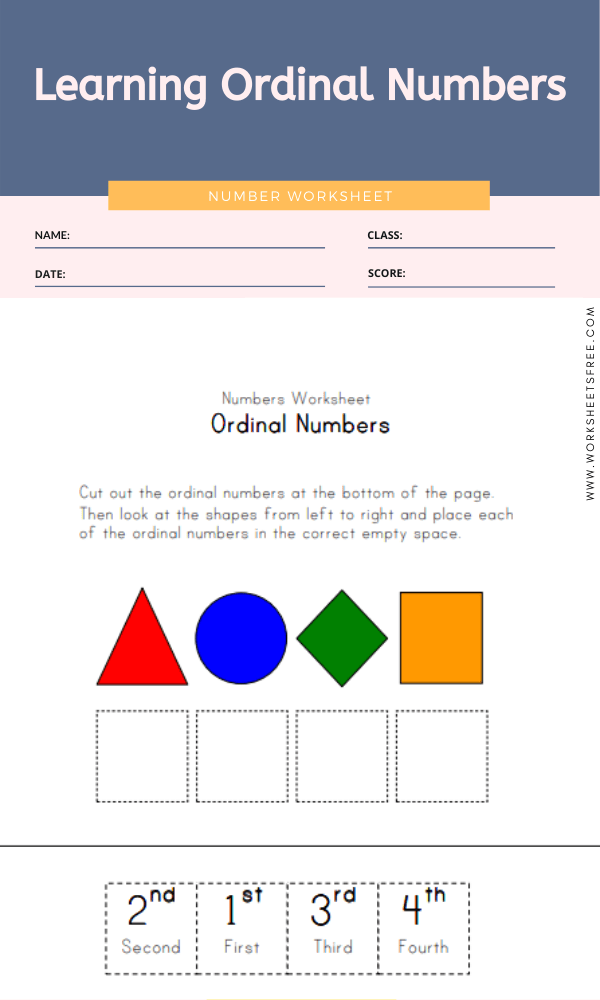 Learning Ordinal Numbers
