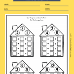 PRESCHOOL MATH ASSESSMENT WORKSHEETS 1