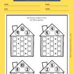 PRESCHOOL MATH ASSESSMENT WORKSHEETS 3
