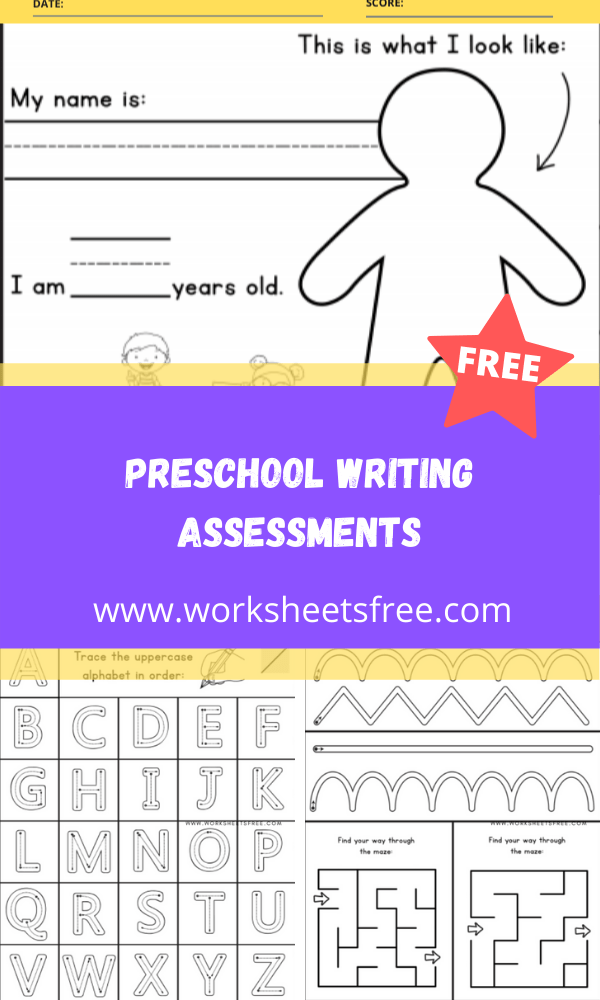 PRESCHOOL WRITING ASSESSMENTS