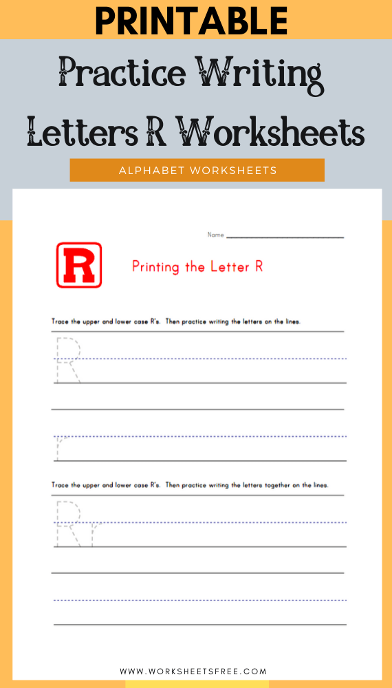Practice-Writing-Letters-R-Worksheets