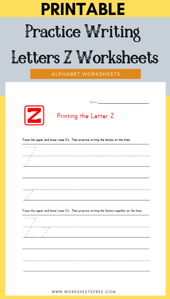 Practice-Writing-Letters-Z-Worksheets