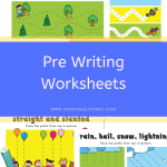 Pre Writing Worksheets