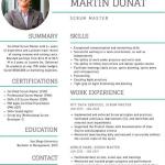 Scrum Master Resume Example 4