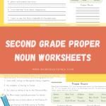 Second Grade Proper Noun Worksheets