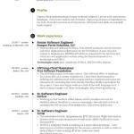 Senior Android Engineer Resume Sample 1