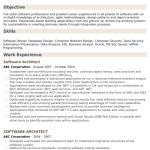 Software Architect Resume Sample 4