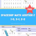 Spaceship-Math-Addition-C